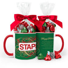gift mugs with candy christmas gift mugs
