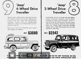 jeep ads 2017 jeep u0027 traveller ads ewillys