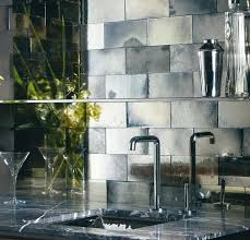 Mirrored Mosaic Tile Backsplash by Mirrored Mosaic Backsplash Tiles Mirror Tile Backsplash Diy