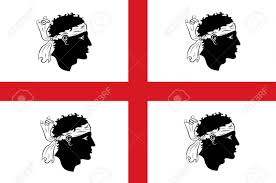 Flag Of Itali Flag Of Sardinia Is The Second Largest Island In The Mediterranean