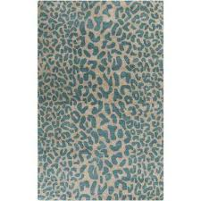 Teal And Green Rug Area Rugs Rugs The Home Depot