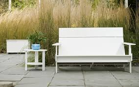outdoor furniture spotlight colorful recycled designs from loll