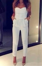 white romper jumpsuit top jumpsuit white strapless shoes romper