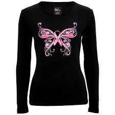 pink ribbon butterfly sleeve the breast cancer site