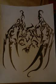 tribal gargoyle tattoo design in 2017 real photo pictures