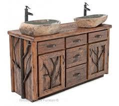 rustic bathroom vanity buildsomething in vanities barnwood inside