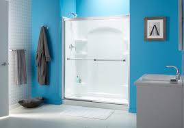 Buy Shower Doors Bathtub Doors Lowes Trackless Shower For Tubs How To Install A