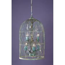 Birdcage Chandelier Shabby Chic Gorgeous Birdcage Chandelier Light