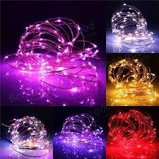 10m 100 led warm white string fairy light dc12v waterproof copper