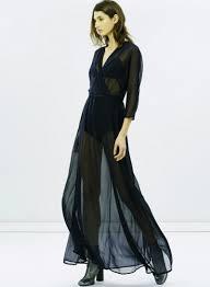 v neck semi sheer mesh party maxi dress oasap com