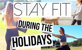 5 ways to stay fit during the holidays