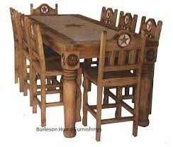 western dining room sets large wood table photo of well lodge 3 20
