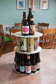 beer barrel cake how to make a birthday beer cake