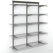 wire shelves shelf dividers lowes shoe for closets basket