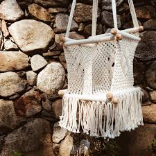Knotted Hammock Chair Baby Swing Macrame Chair Hastac2011 Org