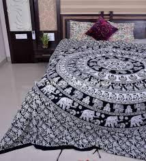 indian elephant mandala duvet cover quilt cover bohemian bedding