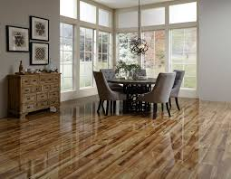 Knotty Pine Flooring Laminate by Heard County Hickory A High Gloss Dream Home Laminate Floors