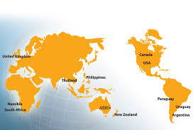 Australian World Map by Coverage Maps Emc Connected This Is How Empty Canada Really Is
