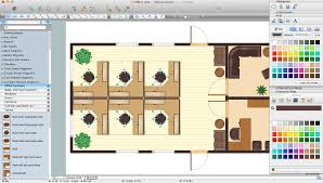 3d Office Floor Plan Office Layout Software Create Great Looking Office Plan Office