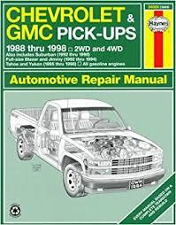 online auto repair manual 2000 chevrolet suburban 1500 electronic throttle control chevrolet gmc pick ups automotive repair manual models covered