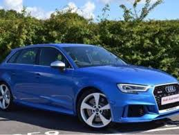 audi rs3 blue used blue audi rs3 for sale rac cars