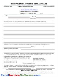 Free Construction Estimating Spreadsheet Template by Construction Bid Template Free Excel Thebridgesummit Co