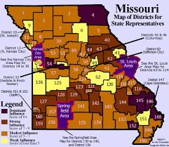 Mo Map Missouri Legislator Power Maps