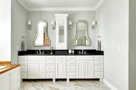 modren white bathroom cabinets with dark countertops beautiful
