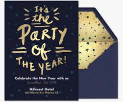 new year invitation new year s party invitations evite