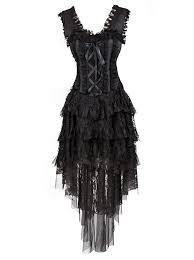 women u0027s vintage burlesque saloon corset dress halloween