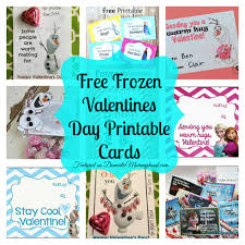 8 free frozen valentines day printable cards domestic mommyhood