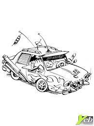 coloriage à imprimer véhicules voiture bmw numéro 105569