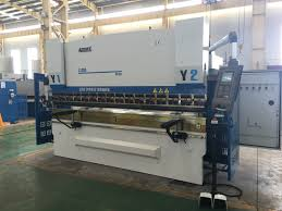 accurl 4 axis cnc press brake with delem da52s cnc system press