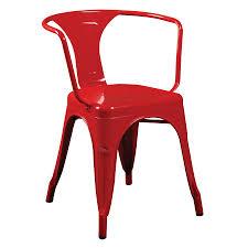 Modern Bistro Table Corsair Red Modern Bistro Arm Chair Eurway Furniture