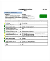 software development status report template 16 it report templates free sle exle format