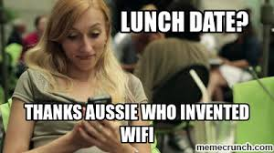 Who Invented Memes - girl lunch date meme