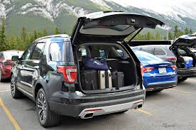 ford explorer trunk space explore more with the 2016 ford explorer platinum review