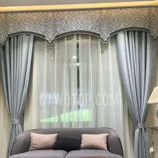 No Curtains Modern Curtains Solid Silver Poly Linen Room Darkening No Valance