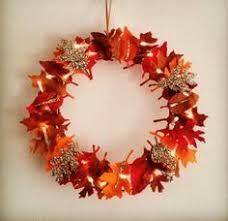felt floral wreath autumn wreath brown cream indoor wreath