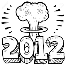 doodle style goodbye 2012 new year s eve sketch in format includes