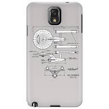 u s s enterprise blueprints star trek phone case uk dizinga amazon