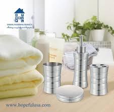 Bathroom Set Bathroom Assessories Bathroom Set Hopeful Enterprise Inc
