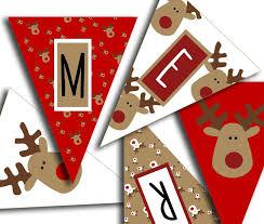 25 christmas banners ideas diy xmas bunting