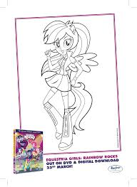 equestria girls coloring pages great my little pony equestria