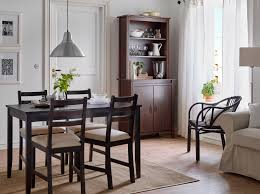 ikea black brown dining table dining room furniture ideas ikea