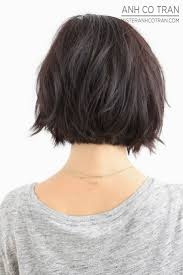 vies of side and back of wavy bob hairstyles short hair back view google search hairmania pinterest