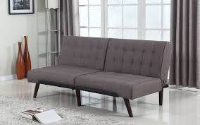graham modern linen splitback futon sofamania com