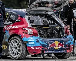 peugeot first car peugeot reveals world rx car and sets the early pace racecar