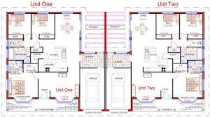 Duplex With Garage Plans Duplex Plan 025m 0081 Find Unique House Plans Home Plans And