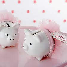 piggy bank favors baby shower curiosities decoracion baby shower